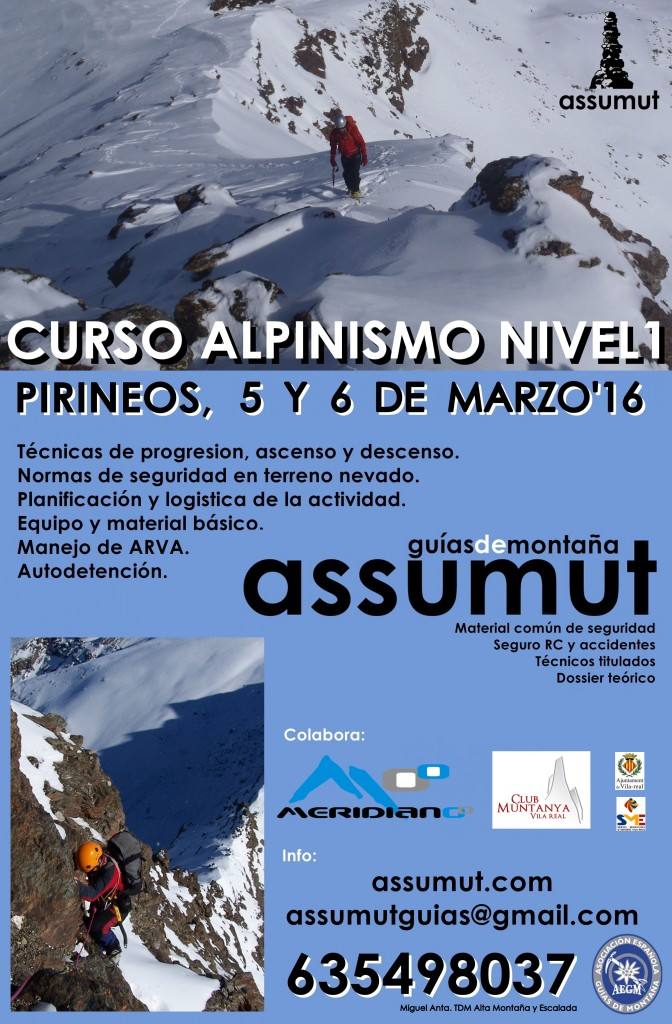 Cartel Alpinismo Mar'16